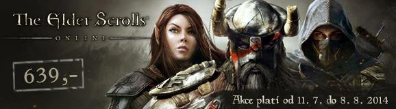 The Elder Scrolls Online akce!