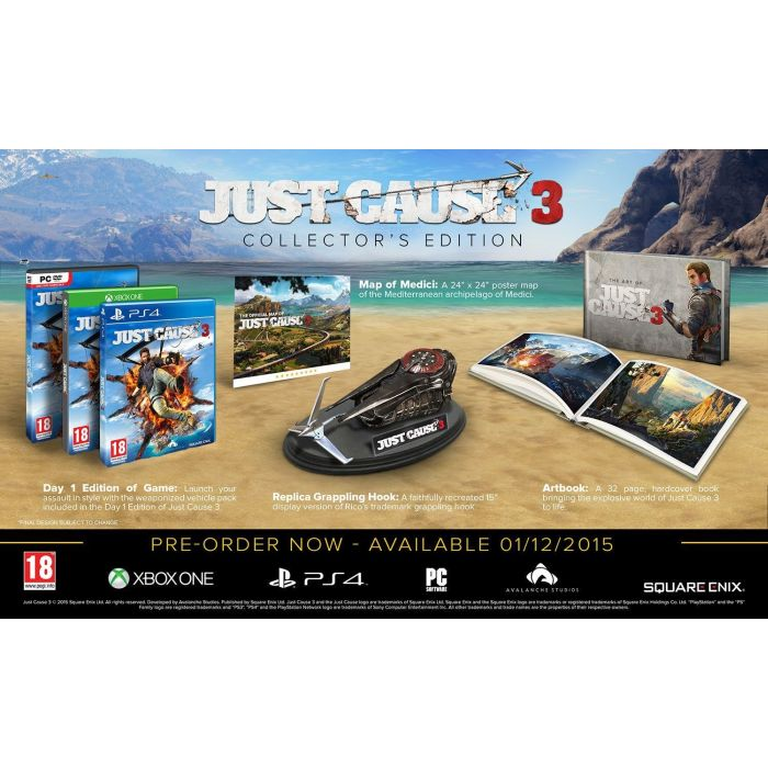 Just Cause 3 (Collector 'Edition)