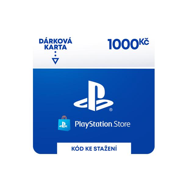 PlayStation Store 1000 Kč-elektronická peněženka