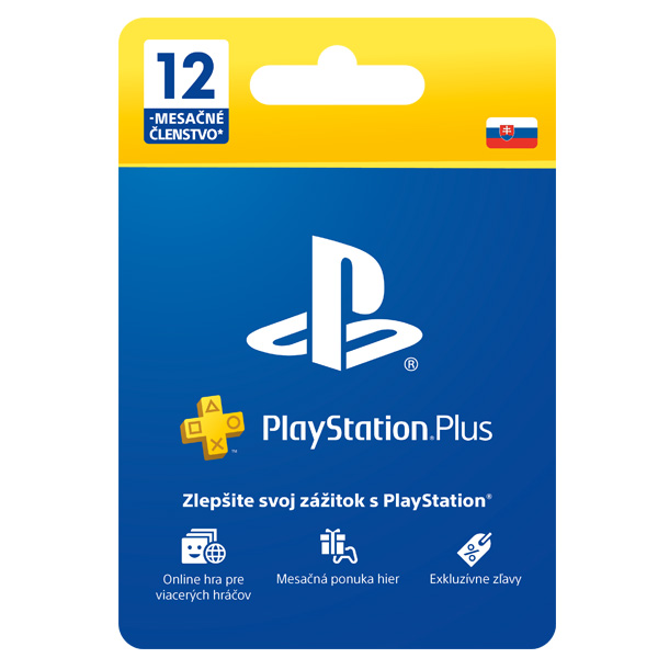 PlayStation Plus předplatné na 365 dnů SK