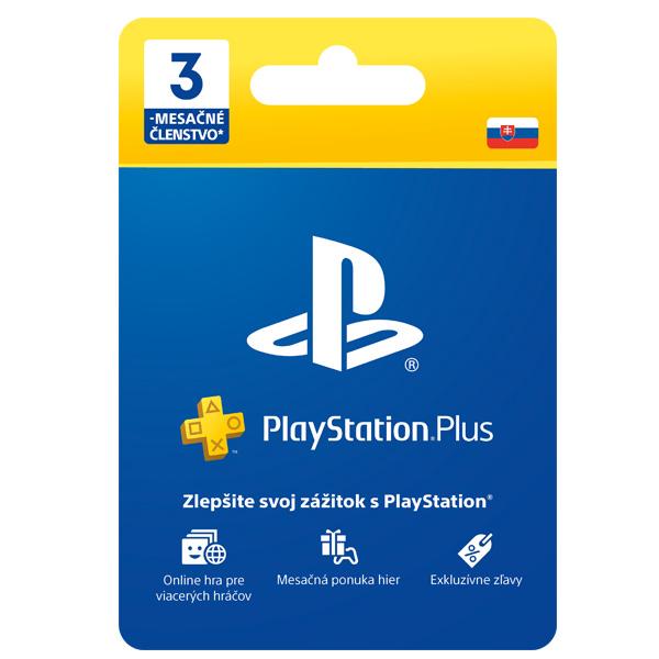 PlayStation Plus předplatné na 90 dní SK