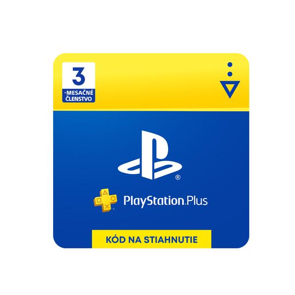 PlayStation Plus předplatné na 90 dní (SK ESD)