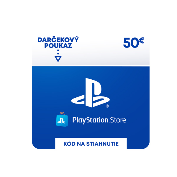 PlayStation Store 50 €-elektronická peněženka