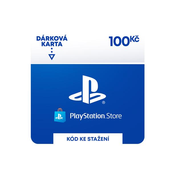 PlayStation Store 100 Kč-elektronická peněženka