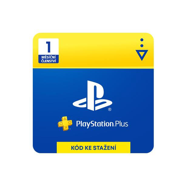 PlayStation Plus 1 měsíc CZ - dárková karta (CZ ESD)