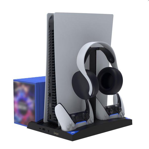 Dokovacia stanice iPega P5013 pro PlayStation 5, Dualsense a Pulse 3D