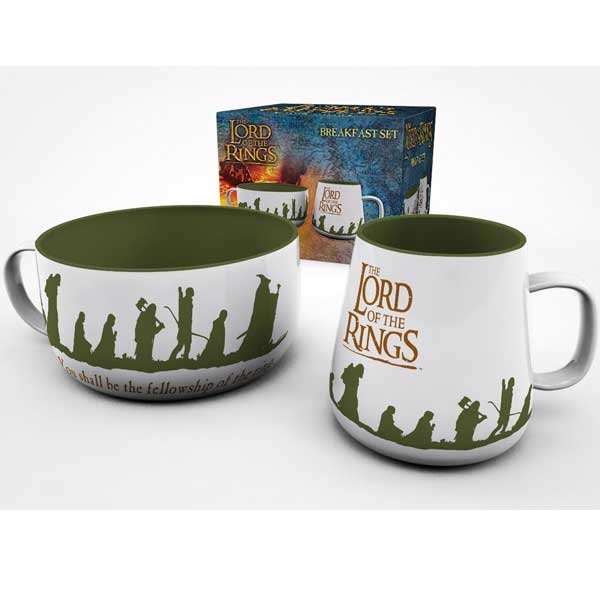 Set Fellowship Breakfast (Lord of The Rings)
