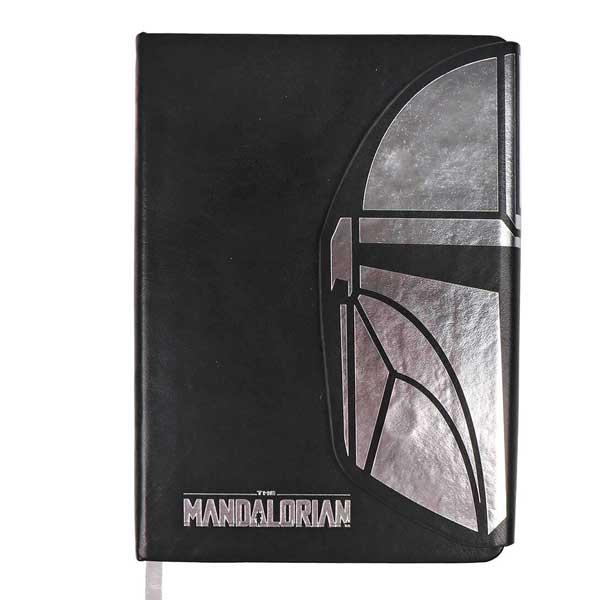 Zápisník Mando Helmet (Star Wars)