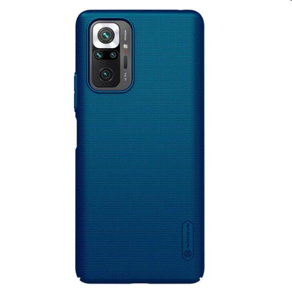 Pouzdro Nillkin Super Frosted pro Xiaomi Redmi Note 10 Pro, modré