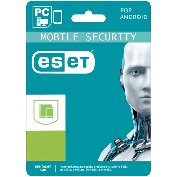 ESET Mobile Security pro Android na 1 mobil na 24 měsíců SK (elektronická licence)