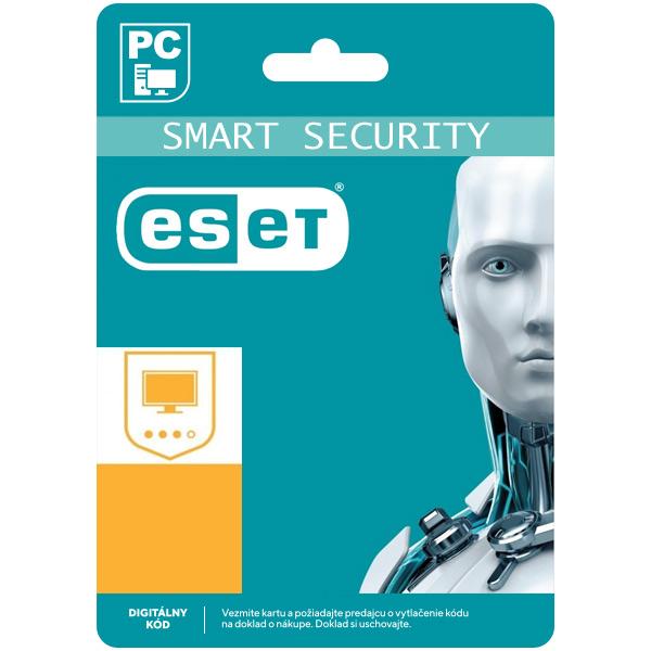 ESET Smart Security Premium pro 1 počítač na 12 měsíců SK (elektronická licence)