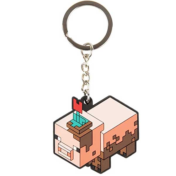 Kľúčenka Muddy Pig (Minecraft)