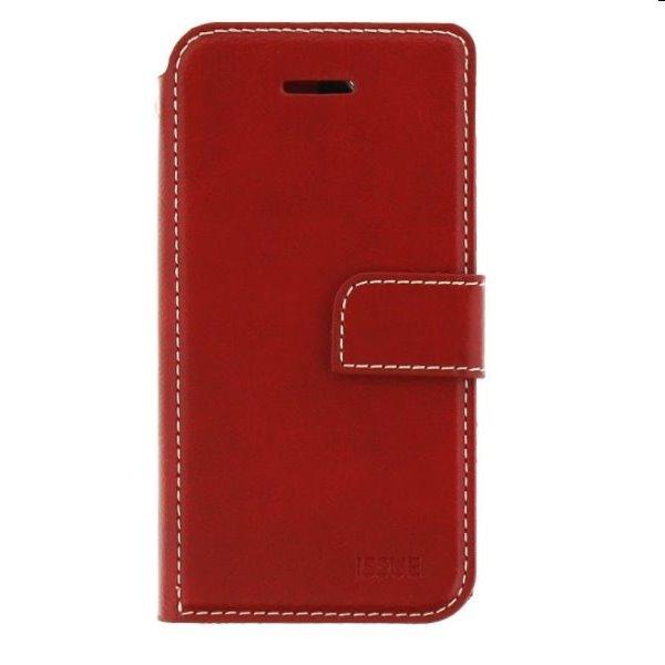 Molan Cano knížkové pouzdro pro Motorola Edge 20 Pro, červené