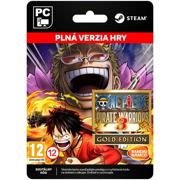 One Piece: Pirate Warriors 3 (Gold Edition) [Steam]
