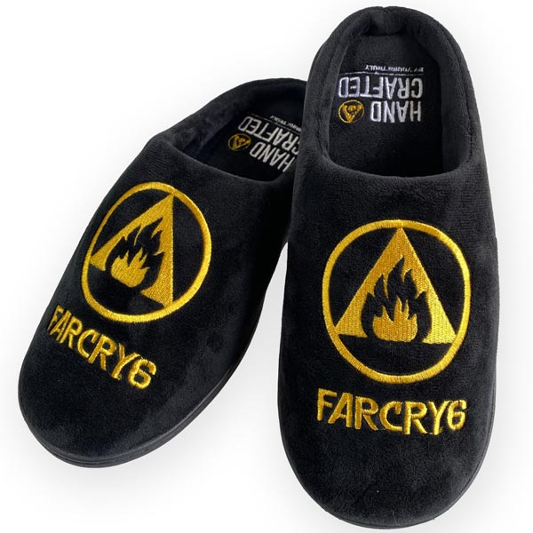 Papuče Logo EU 42-45 (Far Cry 6)
