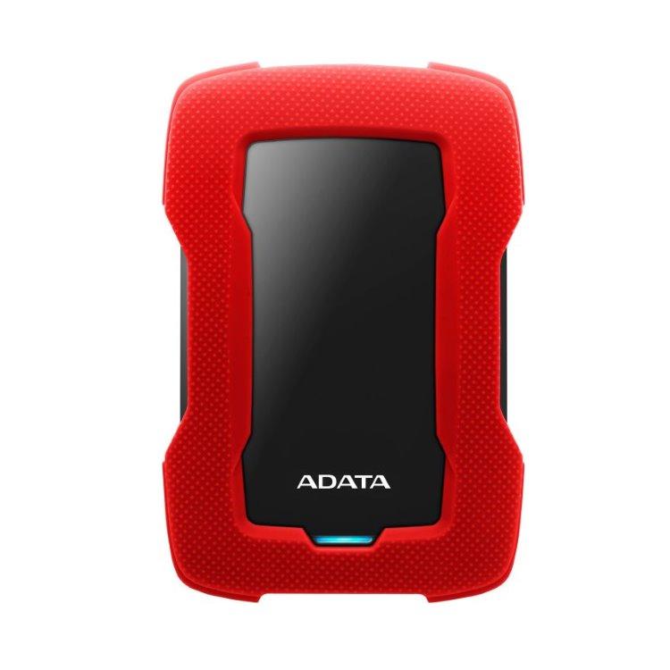 A-Data HDD HD330, 2TB, USB 3.2 (AHD330-2TU31-CRD), Red