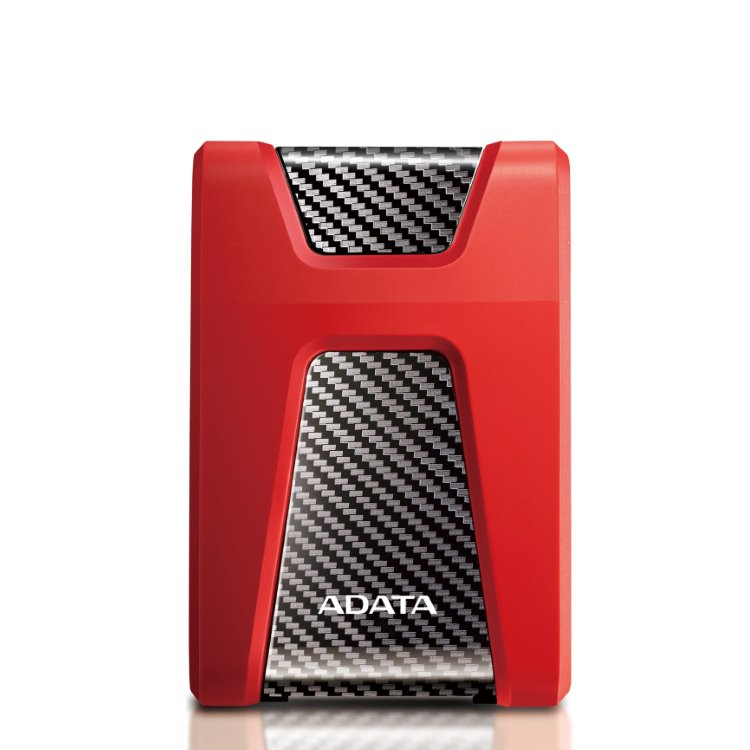 A-Data HDD HD650, 2TB, USB 3.2 (AHD650-2TU31-CRD), Red