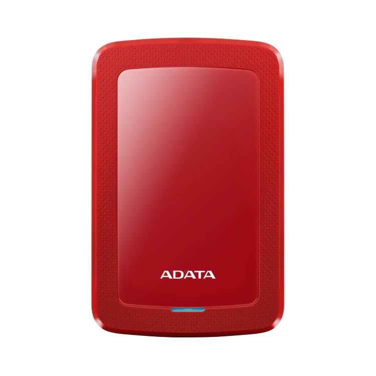 A-Data HDD HV300, 1TB, USB 3.2 (AHV300-1TU31-CRD), Red