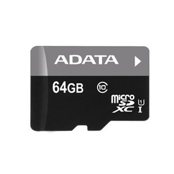 A-Data Micro SDXC Premier 64GB, UHS-I, Class 10-rychlost 30 MB/s