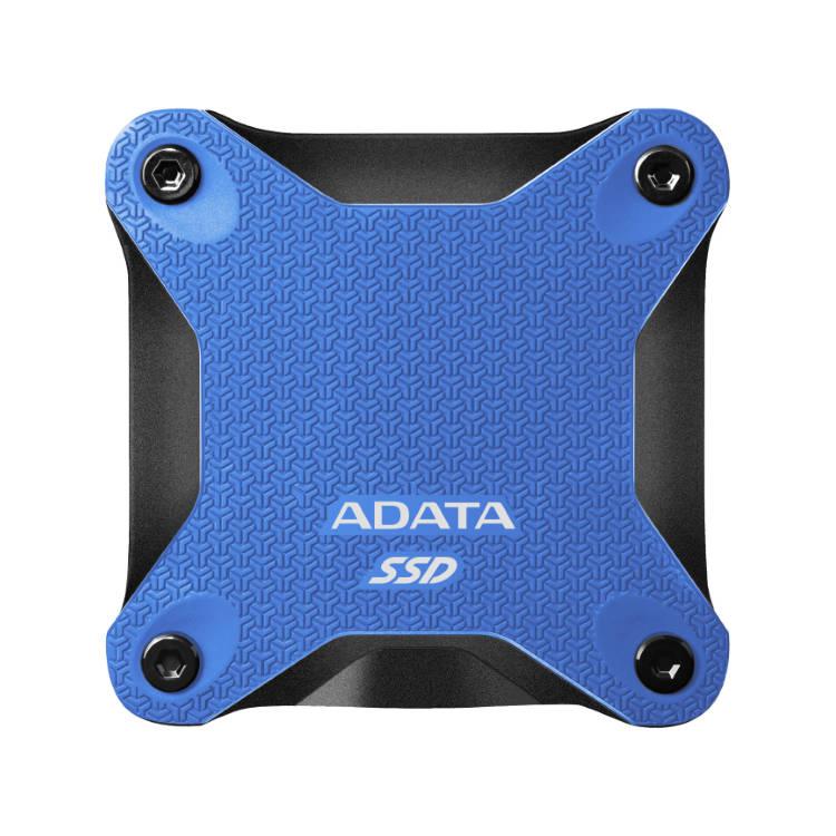 A-Data SSD SD600Q, 240GB, USB 3.2-rychlost 440/430 MB/s (ASD600Q-240GU31-CBL), Blue