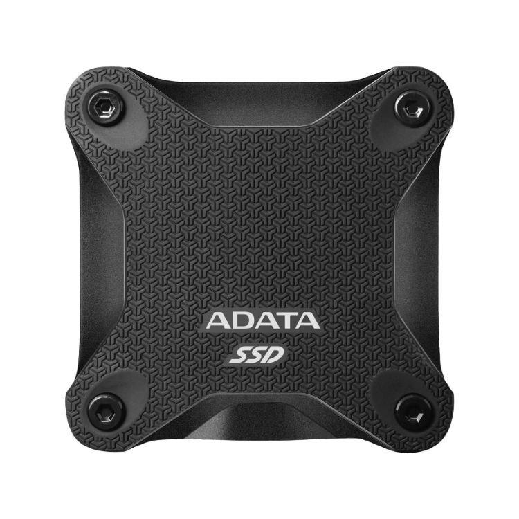 A-Data SSD SD600Q, 480GB, USB 3.2-rychlost 440/430 MB/s (ASD600Q-480GU31-CBK), Black