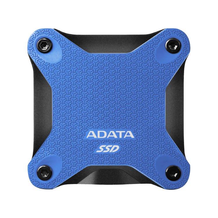 A-Data SSD SD600Q, 480GB, USB 3.2-rychlost 440/430 MB/s (ASD600Q-480GU31-CBL), Blue