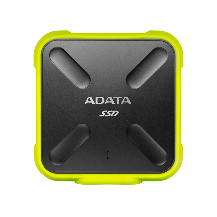 A-Data SSD SD700, 256GB, USB 3.2-rychlost 440/430 MB/s (ASD700-256GU31-CYL), Yellow