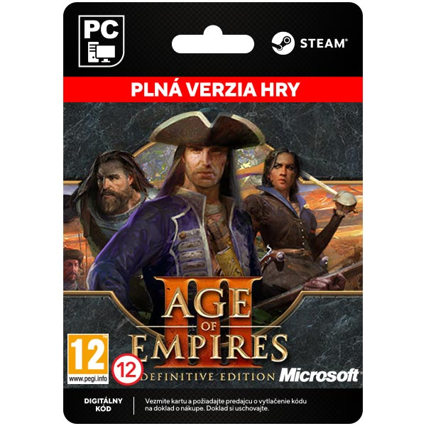 Age of Empires 3 (Definitive Edition) [Steam]