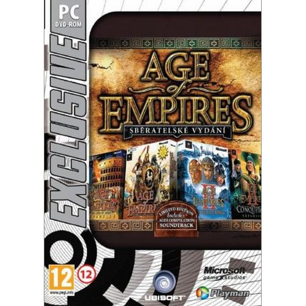 Age of Empires (Sběratelské vydání) PC