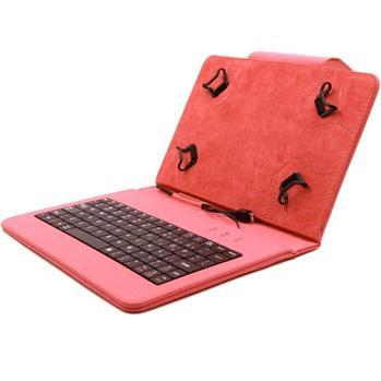 Akce - Pouzdro FlexGrip s klávesnicí pro Acer Iconia One 7 - B1-730 HD, Red