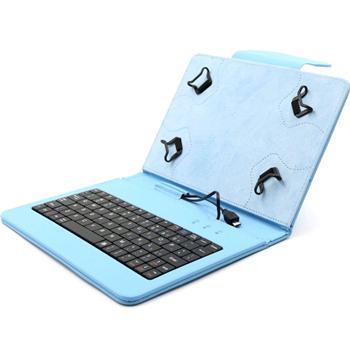 Akce-Pouzdro FlexGrip s klávesnicí pro Asus Memo Pad 10-ME103K, Blue