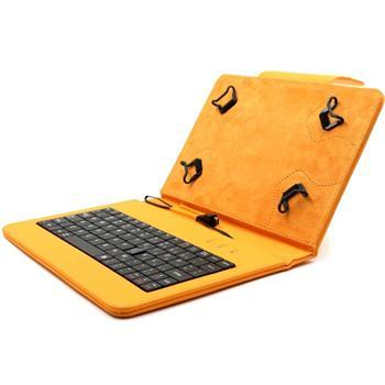 Akce - Pouzdro FlexGrip s klávesnicí pro GoClever Insignia 700 Pro, Orange