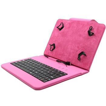 Akce - Pouzdro FlexGrip s klávesnicí pro GoClever Insignia 700 Pro, Pink