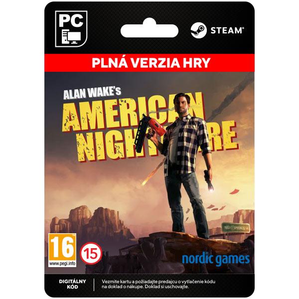 Alan Wake's American Nightmare [Steam]