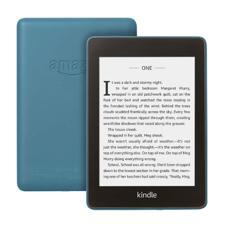 Amazon Kindle Paperwhite 4 2018, Blue-sponzorovaná verze