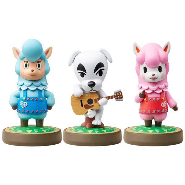 amiibo 3-pack: Reese + K.K. + Cyrus (Animal Crossing)