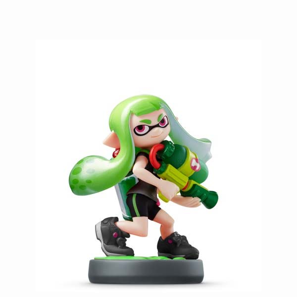 amiibo Inkling Lime Green Girl (Splatoon)