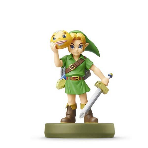 amiibo Zelda Link (The Legend of Zelda Majora 's Mask)