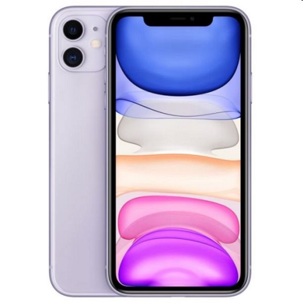 iPhone 11, 256GB, purple