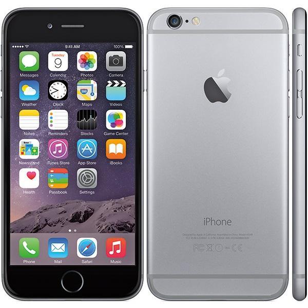 Apple iPhone 6, 16GB |  Space gray, Třída A-použité, záruka 12 měsíců