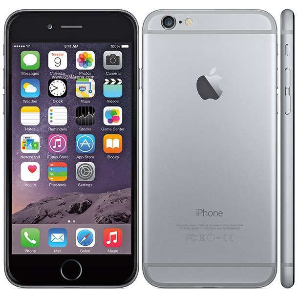 Apple iPhone 6, 32GB, Space Gray