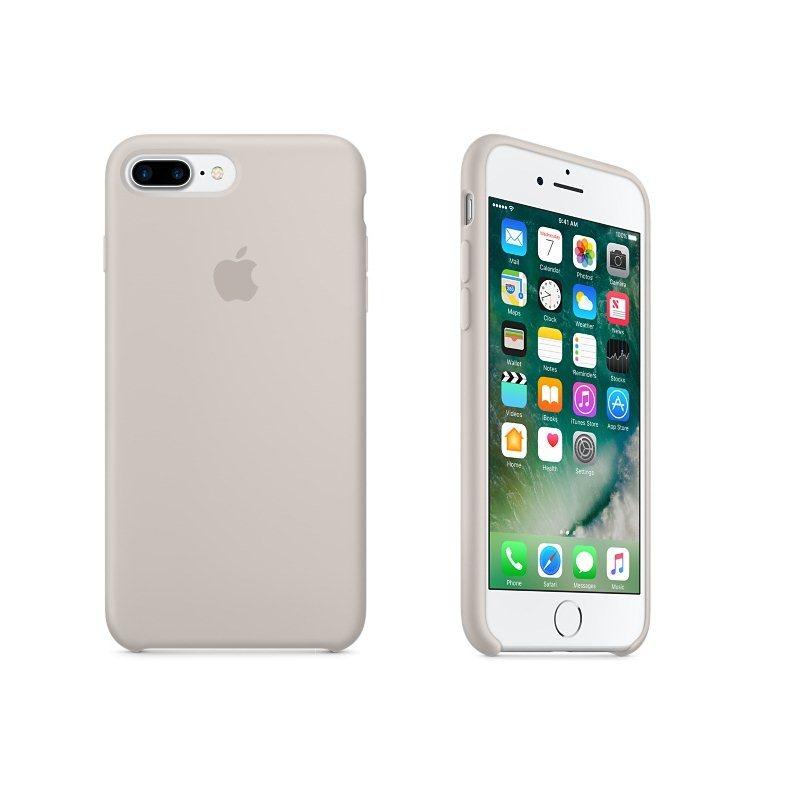 a5e03b6a05 Apple iPhone 7 Plus és iPhone 8 Plus Szilikon tok (Stone) MMQW2ZM/A