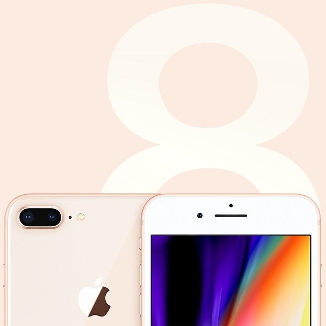 Apple iPhone 8 Plus, 64GB |  Space Gray, Třída C-použité, záruka 12 měsíců
