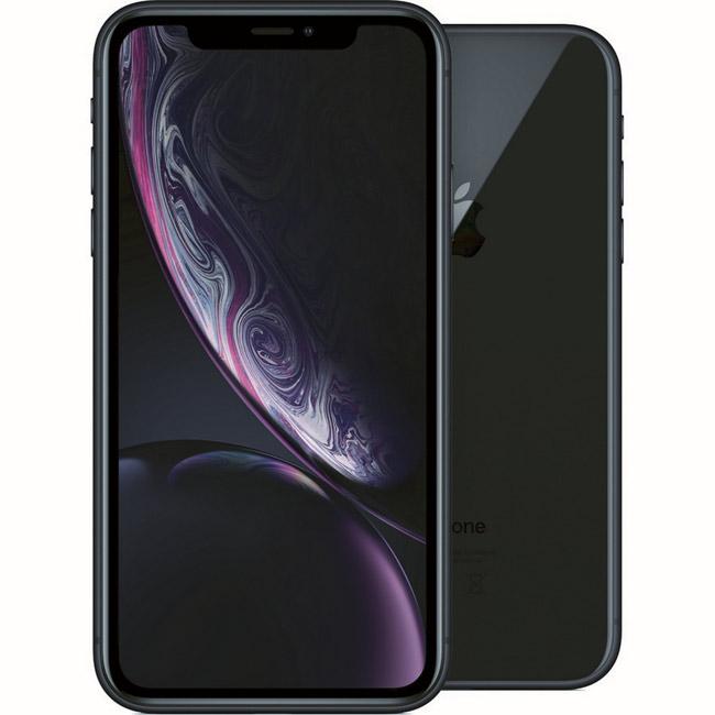 iPhone XR, 128GB, black