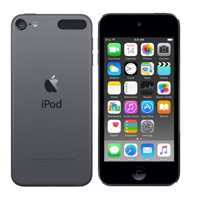 Multimediálny prehrávač Apple iPod Touch 6th, 32GB| Black, Trieda B - použité, záruka 12 mesiacov + slúchadlá v balení