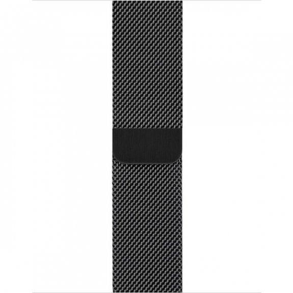 Apple Watch 38/40mm Milanese Loop náramek, černý