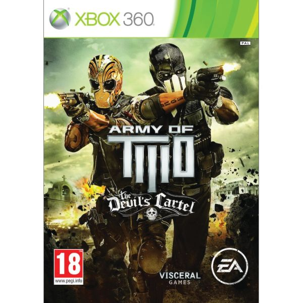 Army of Two: The Devil 'Cartel XBOX 360