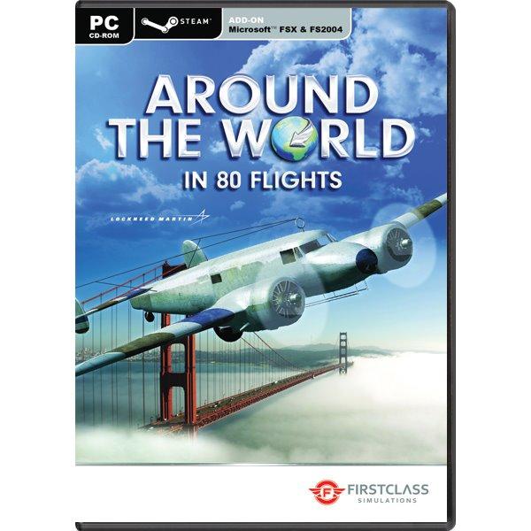 Around the World in 80 Flights (Microsoft Flight Simulator X Steam Edition Add-On) PC