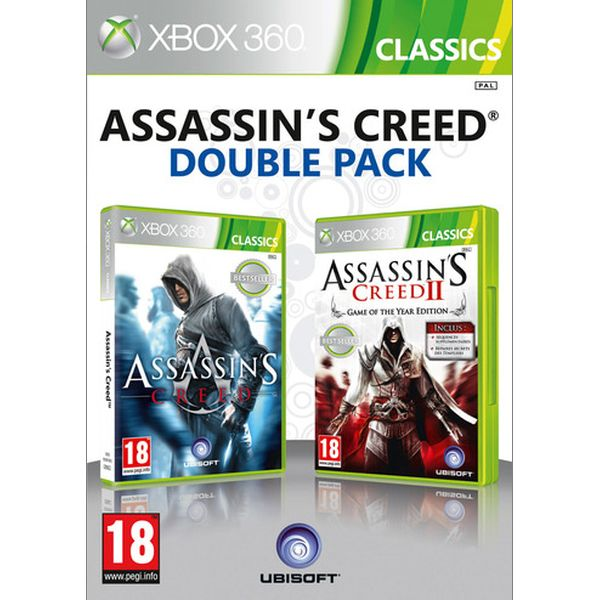 Assassin's Creed + Assassin's Creed 2 XBOX 360