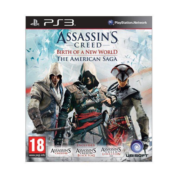 Assassin Creed: Birth of a New World (The American Saga) PS3